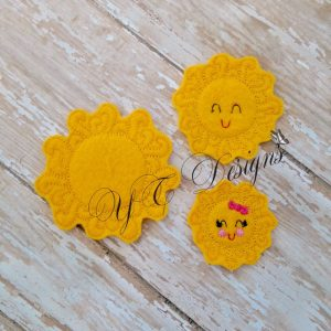Smily Sunshine Embroidery File