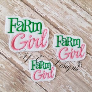 Farm Girl wordie