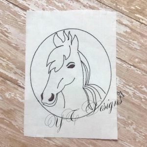 Horse head Applique
