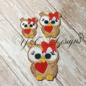 Valentines day Owl 2