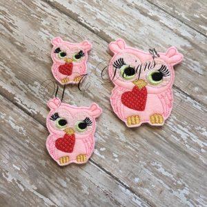 Valentines day Owl 1