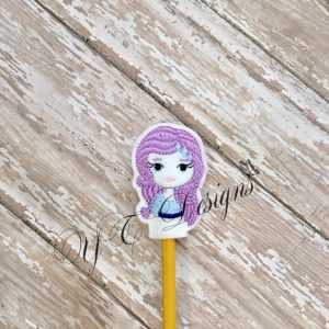 Pony Gal RT head pencil topper
