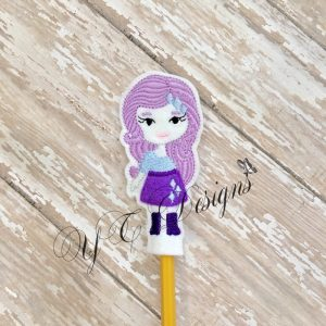 Pony Gal RT pencil topper