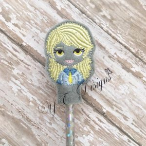 Pony Gal DW head Pencil Topper