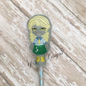 Pony Gal DW Pencil Topper