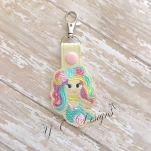 Mermaid 4 Key Fob