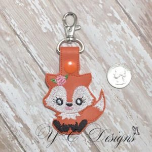 Fox 1 Girl Key Fob