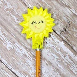 Sun 2 Pencil Topper
