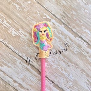 Mermaid 4 Pencil Topper