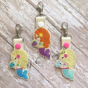 Mermaid 3 Key Fob