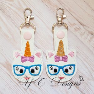 Macaranimal Unicorn 2 Key Fob