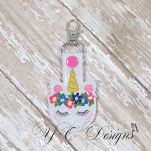 Macaranimal Unicorn 1 Key Fob