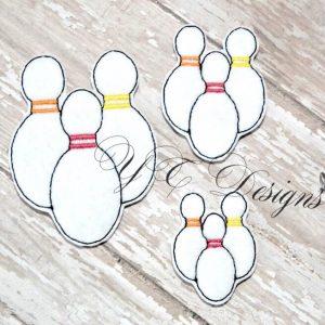 Bowling Pins 1 Feltie