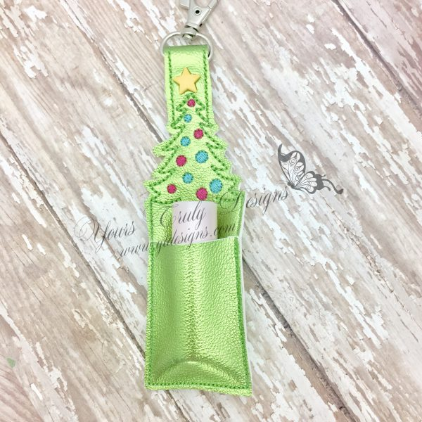 Tree Christmas Simple FOB Lip-gloss chap-stick holder