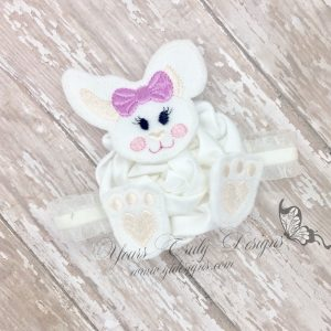 Bunny Pieced 3D bow parts