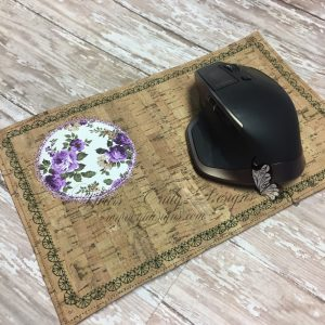 Mouse mug rug