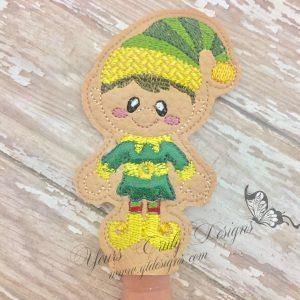 Vintage Elf Boy