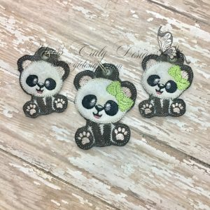 Panda sitting