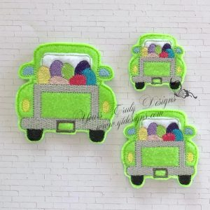 Truck Rear Eggs Feltie