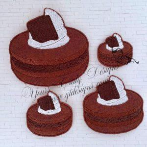 Macaron Chocolate cream
