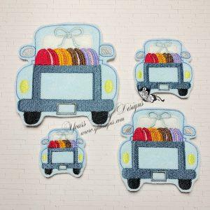 Truck Rear Macarons