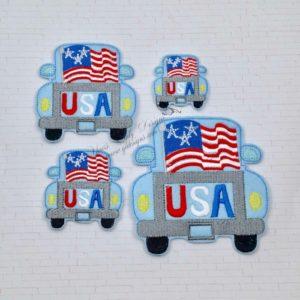 Truck Rear Flag