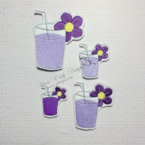 Cup Of Violet Lemonade