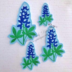 Blue Bonnet Flower