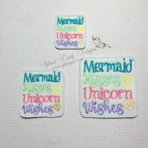 Mermaid Kisses unicorn wishes
