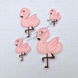 Flamingo Sassy 2 feltie