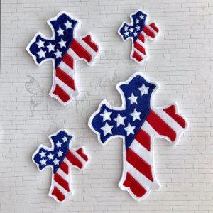 Cross Patriotic Cross