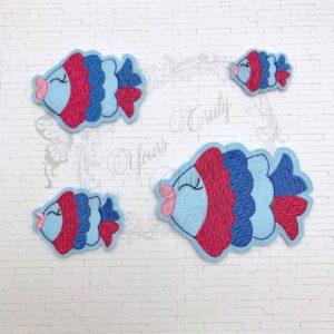 Kissy Fish 1 feltie