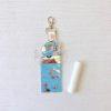 Camping tralier 2 Lip gloss Snap tab Key Fob