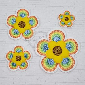 Rainbow Flower Echo Motief