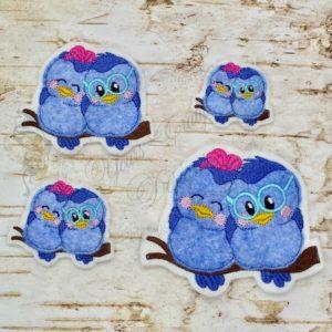 birds tweet hearts