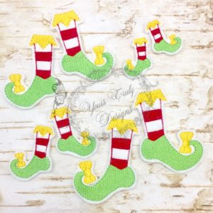 Elf feet girl fill