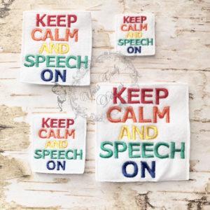 YTD Keep Calm And Speech On