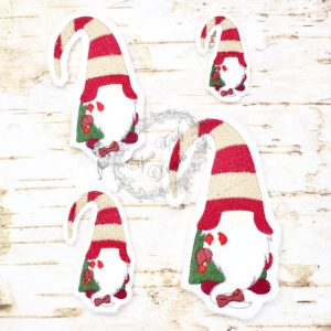 Gnome Candy Cane