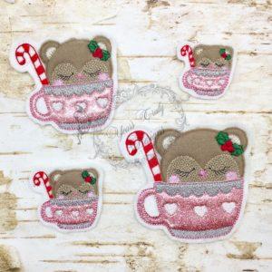 Winter Tea time Bear