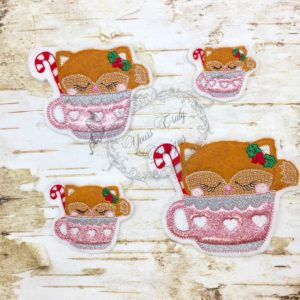 Winter teatime Fox