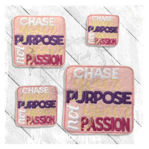 Chase Your Purpose Not Your Passion