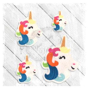 Unicorn Head Fancy Multi