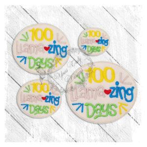 100 Llamazing Days