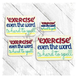 Exercise Even The Word