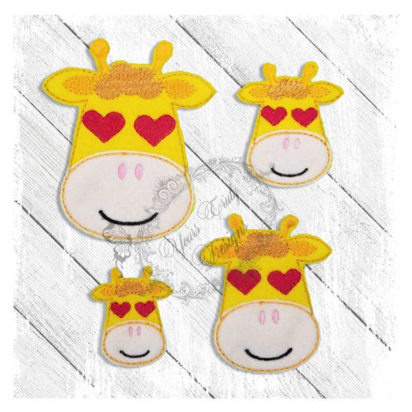 Love Eyes Giraffe