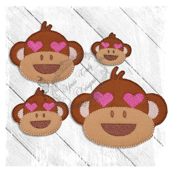 Love Eyes Monkey