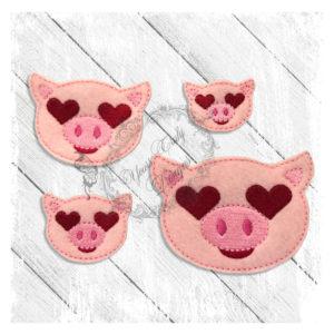 Love Eyes Pig