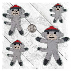 Sock Monkey 1 Boy