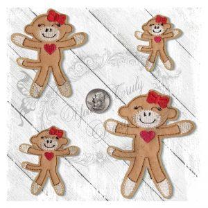 Sock Monkey 1 Girl