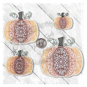 Pumpkin Redwork